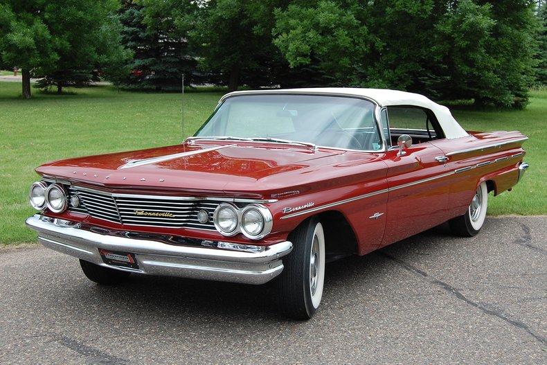 1960 Pontiac Bonneville Convertible 6