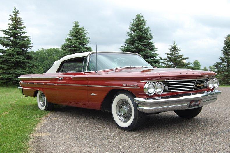 1960 Pontiac Bonneville Convertible 7