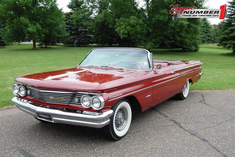 1960 Pontiac Bonneville Convertible 1