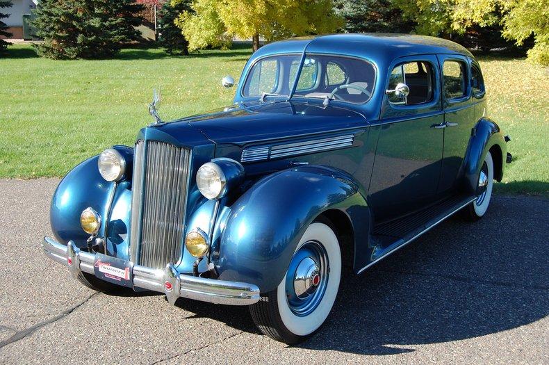 1938 Packard 1601 4dr  Sedan 7