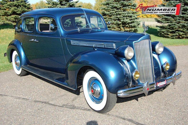 1938 Packard 1601 4dr  Sedan 1