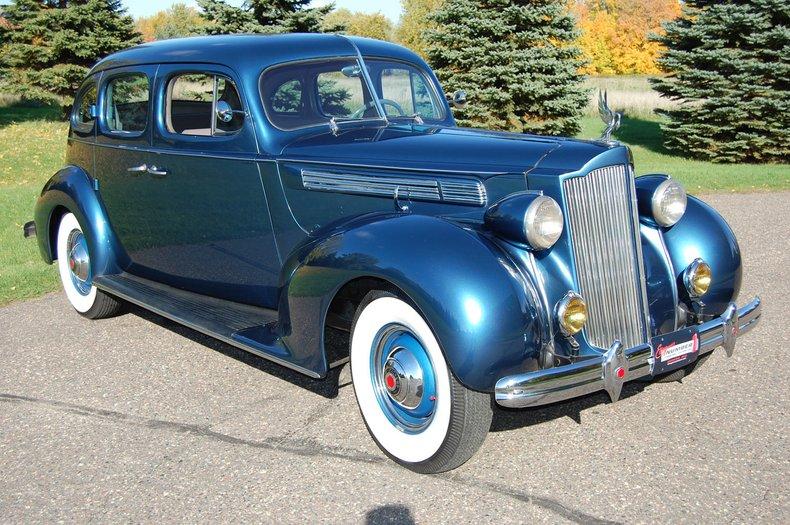 1938 Packard 1601 4dr  Sedan 6