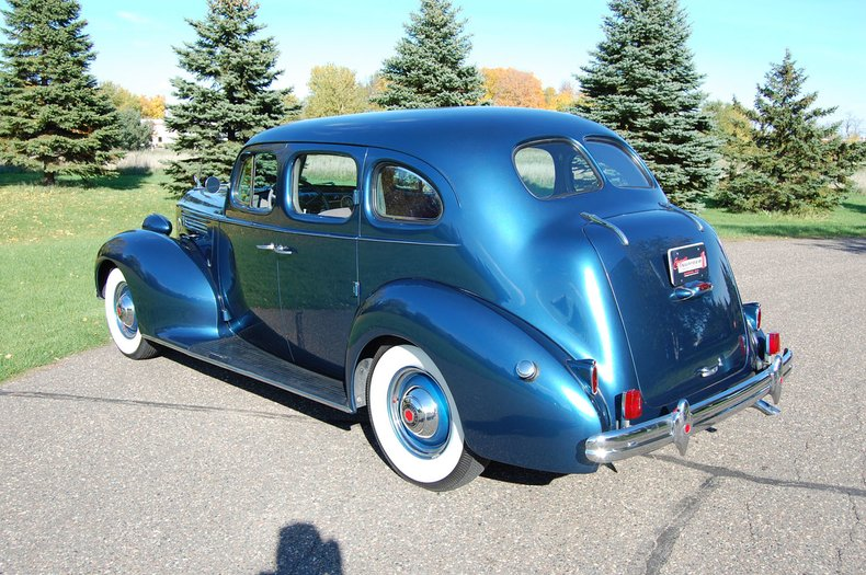 1938 Packard 1601 4dr  Sedan 9