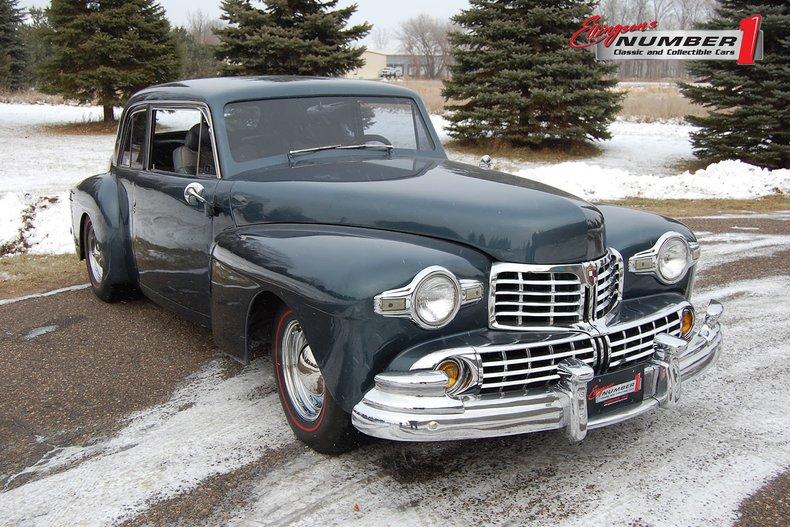 1948 Lincoln 2Dr Streetrod