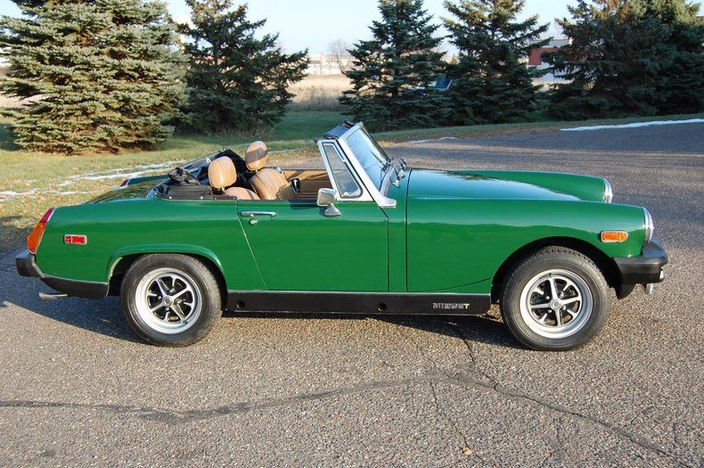 1979 MG Midget Convertible 4