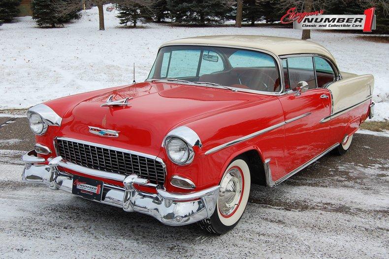 1955 Chevrolet Bel Air 2Dr Hdtp For Sale