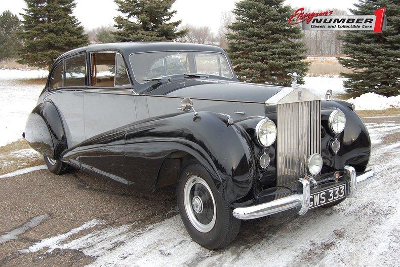 1952 Rolls-Royce Silver Wsg 66