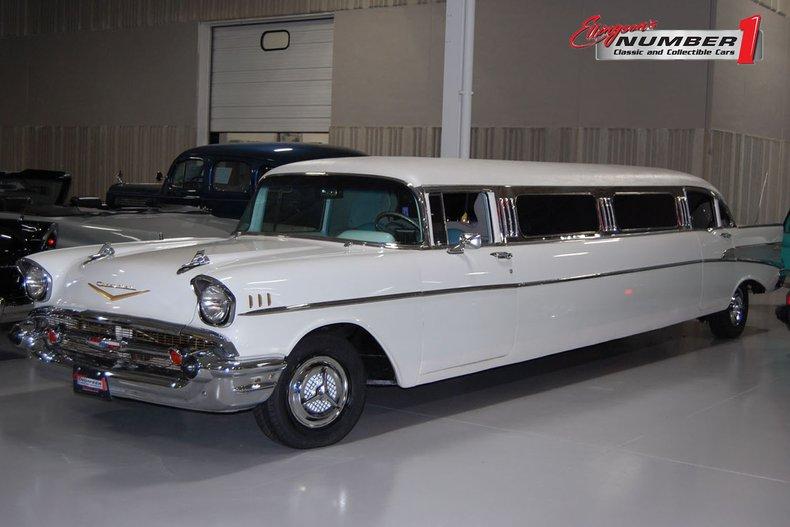 1957 Chevrolet 4 Dr. Limousine