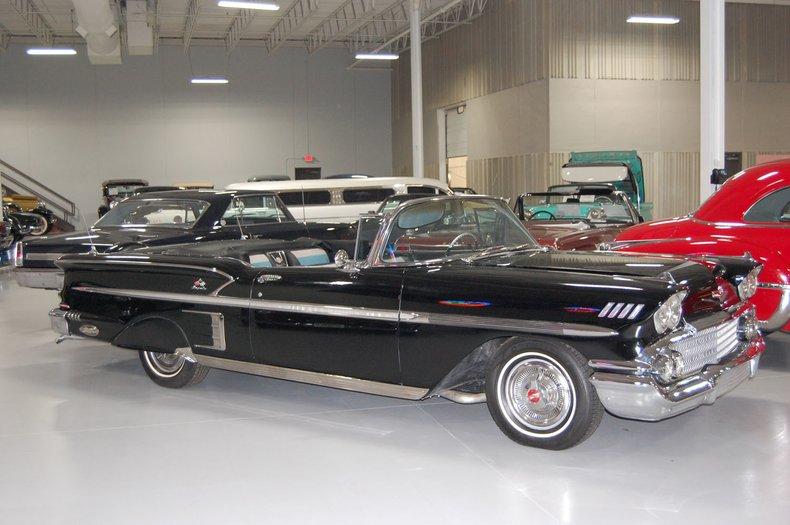 1958 Chevrolet Impala Convertible 22
