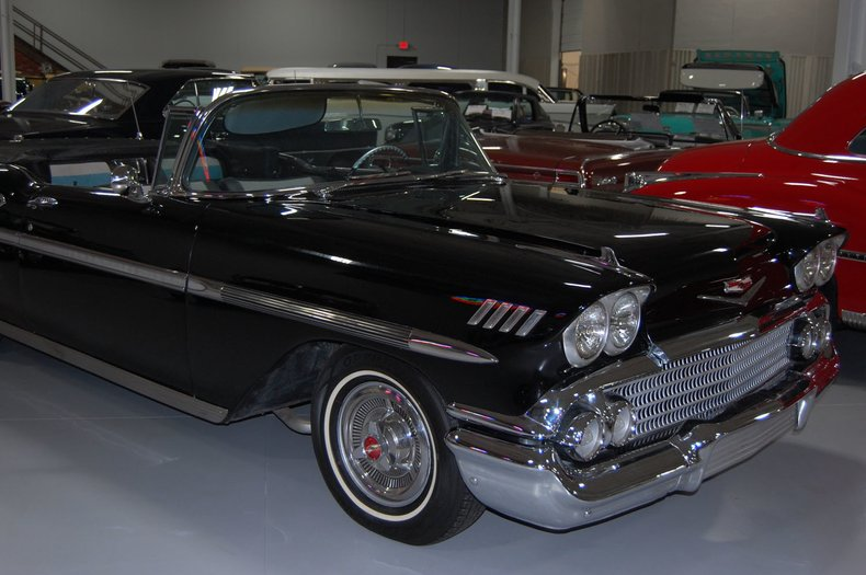 1958 Chevrolet Impala Convertible 23