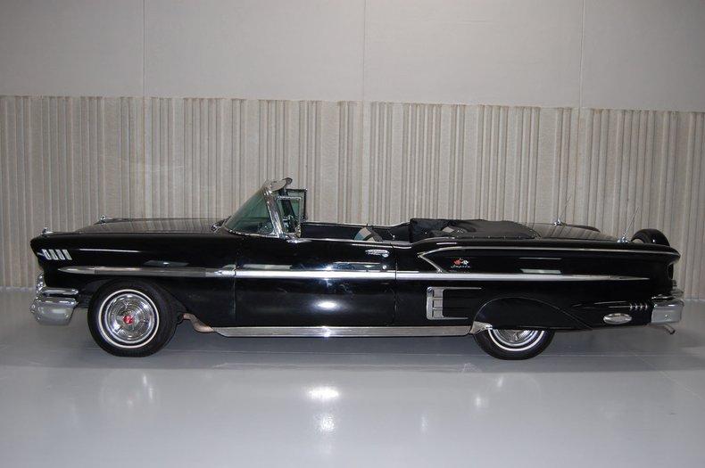 1958 Chevrolet Impala Convertible 4