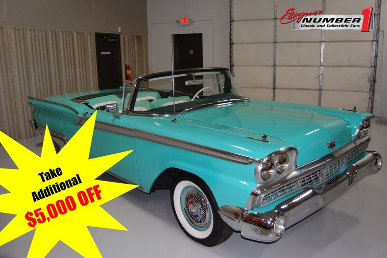 1959 Ford Skyliner Convertible