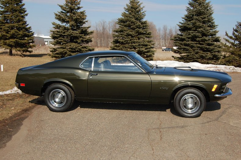 1970 Ford Mustang Fastback 4