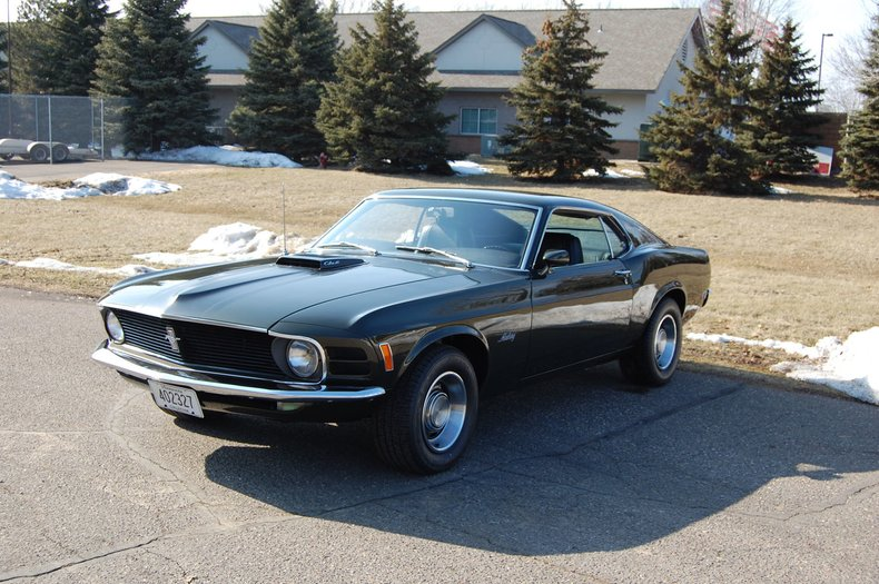 1970 Ford Mustang Fastback 6