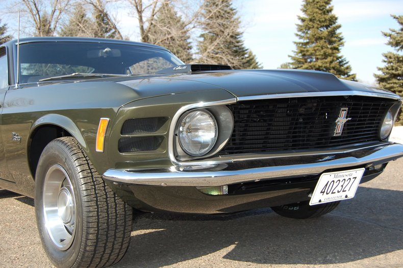 1970 Ford Mustang Fastback 7