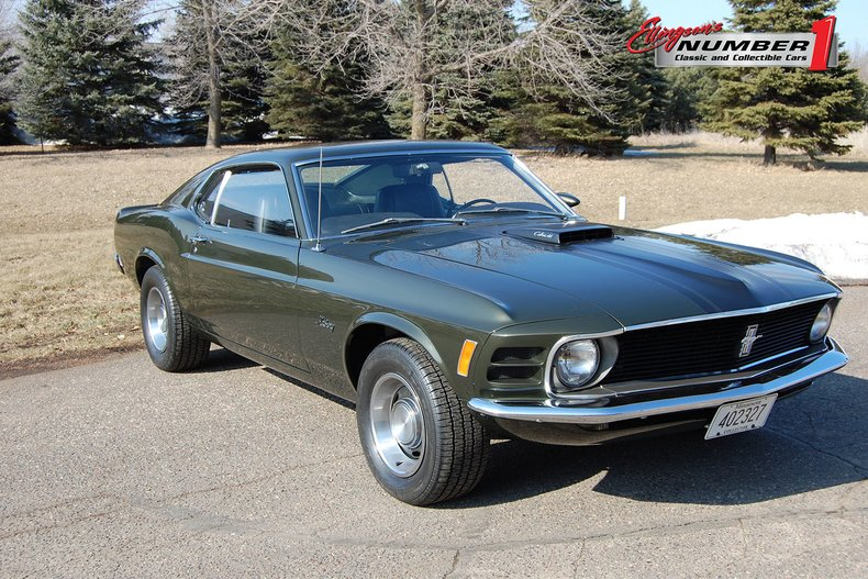 1970 Ford Mustang Fastback 1