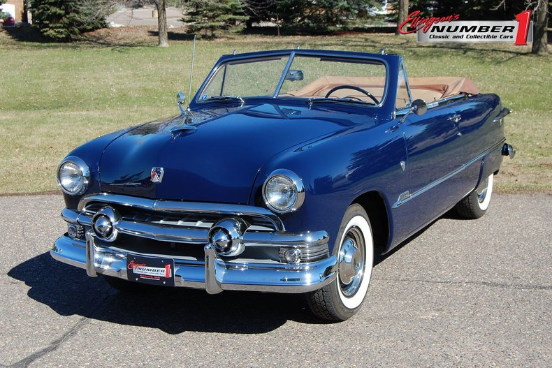 1951 Ford Custom 2DR Convertible