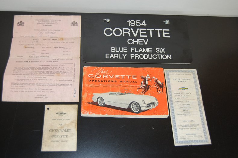 1954 Chevrolet Corvette Convertible 31