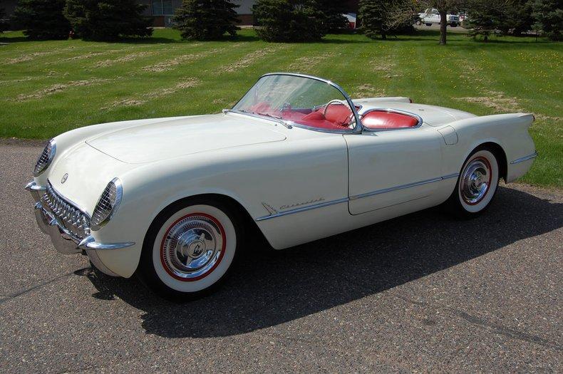 1954 Chevrolet Corvette Convertible 12