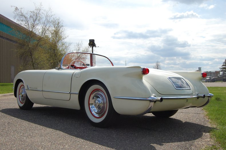 1954 Chevrolet Corvette Convertible 13