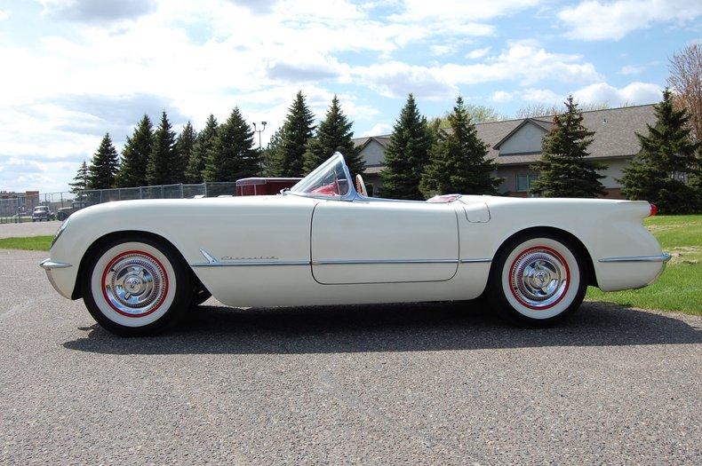 1954 Chevrolet Corvette Convertible 5