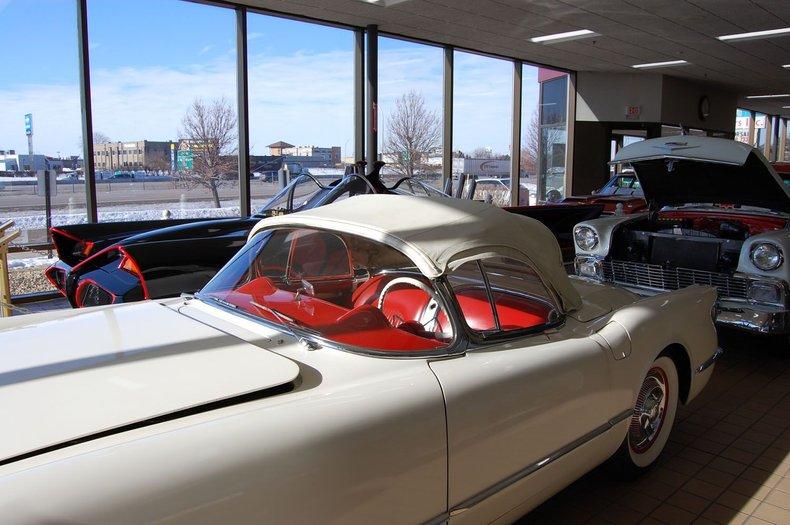 1954 Chevrolet Corvette Convertible 35