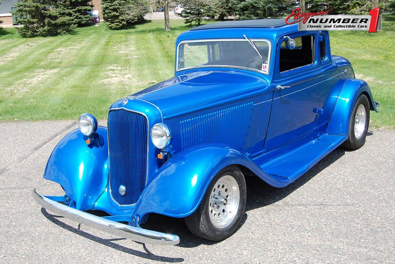 1933 Plymouth 5 Window Coupe Streetrod