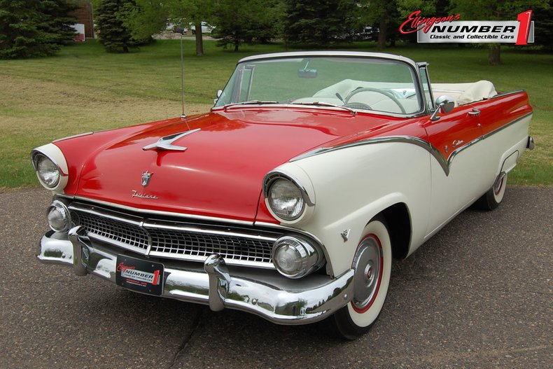 1955 Ford Sunliner Convertible For Sale