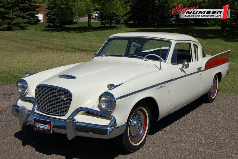 1957 Studebaker Silver Hawk 1