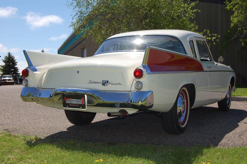 1957 Studebaker Silver Hawk 15