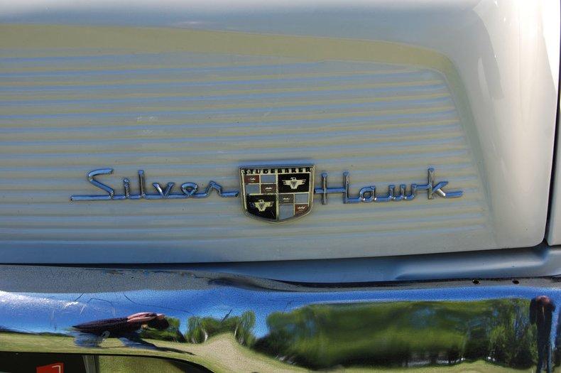 1957 Studebaker Silver Hawk 17