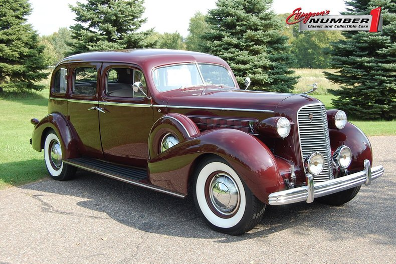 1936 Cadillac Series 85 4dr Sedan