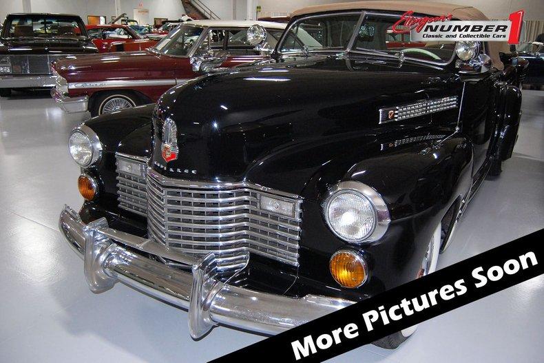 1941 Cadillac Series 62 Convertible 1