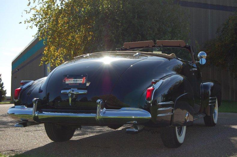 1941 Cadillac Series 62 Convertible 22