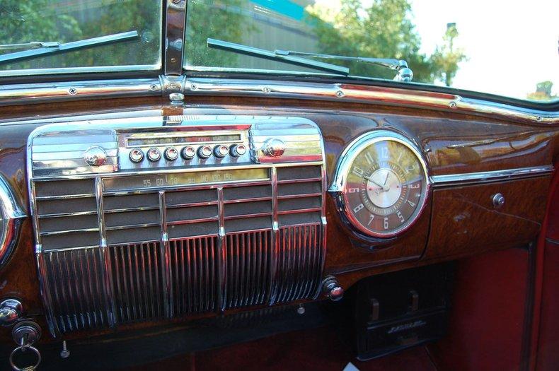 1941 Cadillac Series 62 Convertible 30