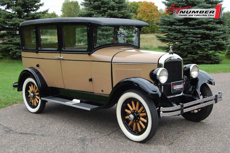1927 Paige 4 Dr Sedan