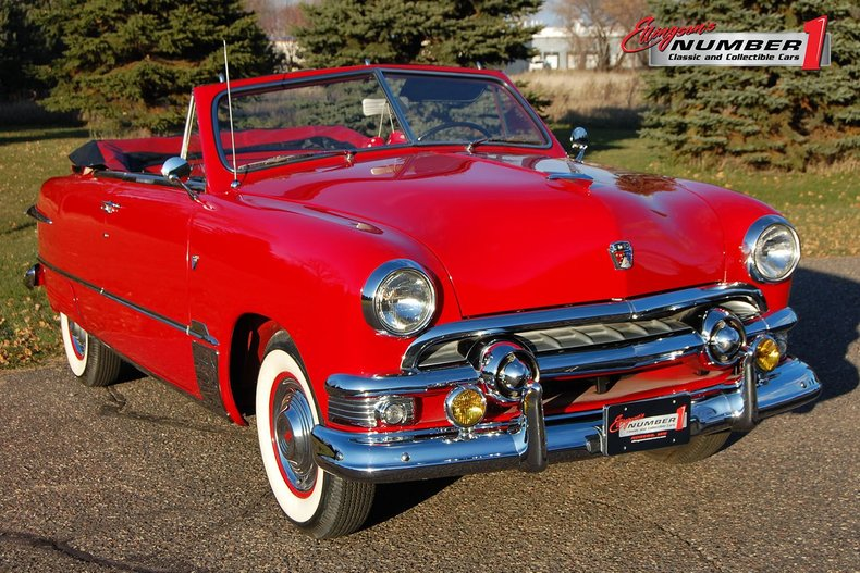 1951 Ford Deluxe 2 Door Convertible