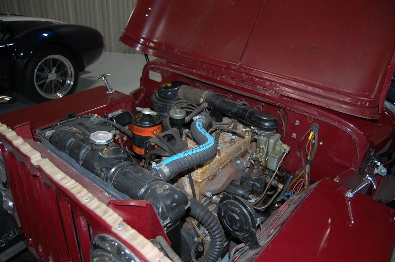 1953 Willys Jeep 35
