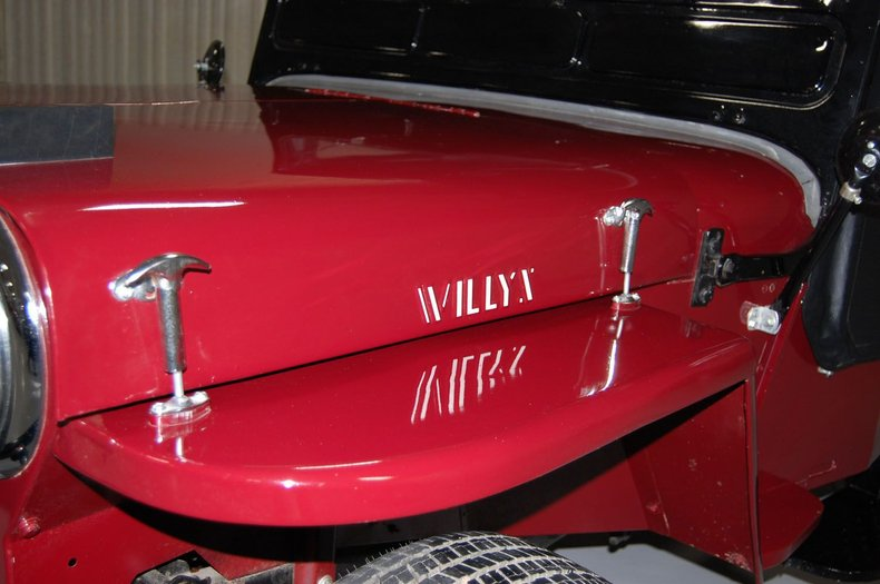 1953 Willys Jeep 11
