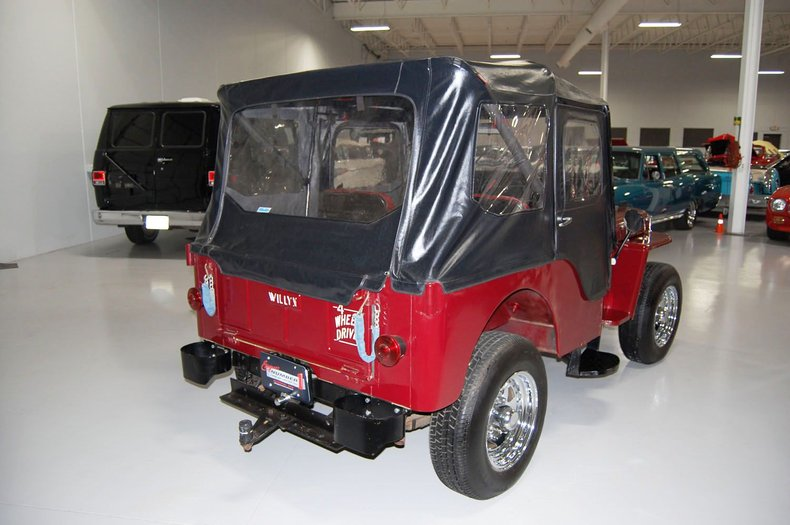 1953 Willys Jeep 7