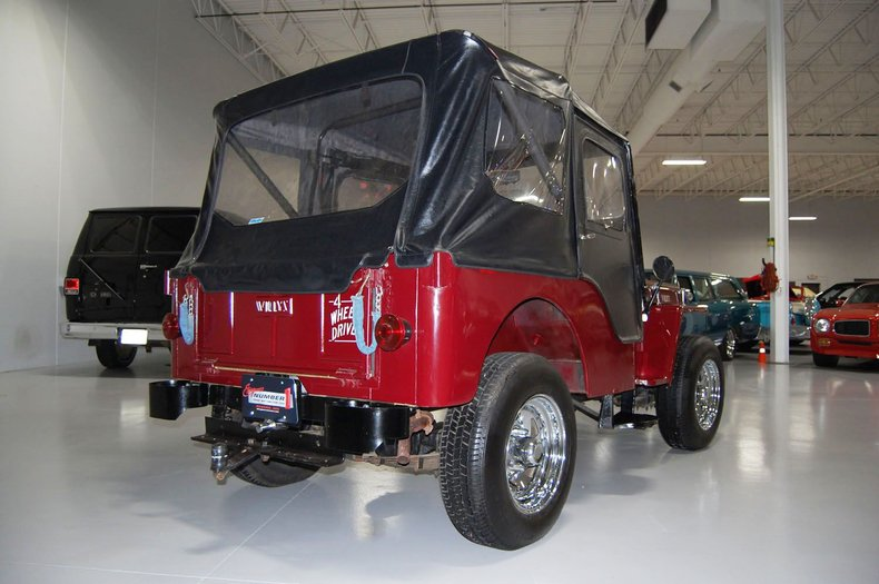 1953 Willys Jeep 14