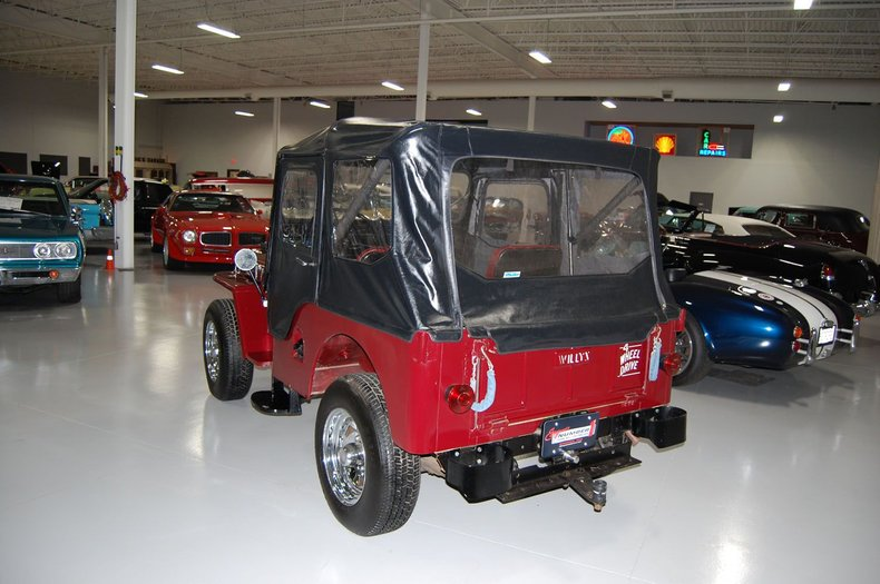 1953 Willys Jeep 6
