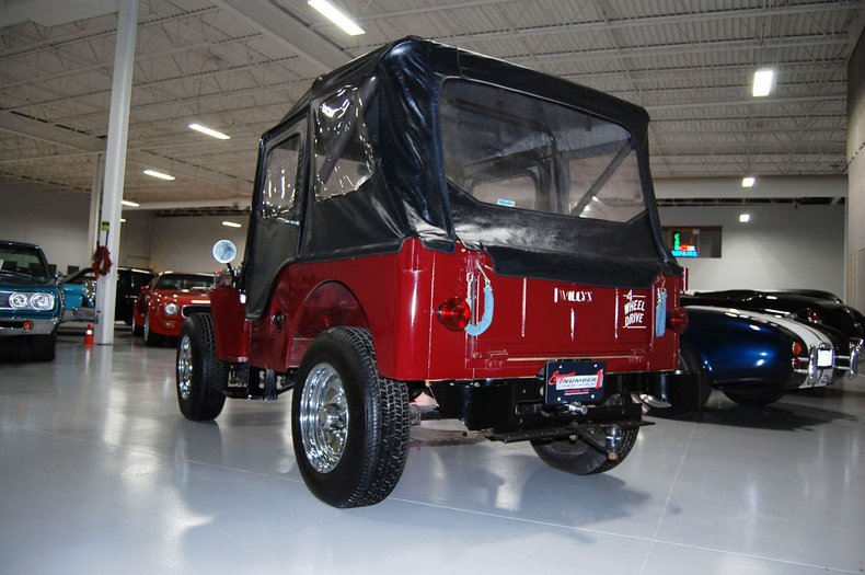 1953 Willys Jeep 12