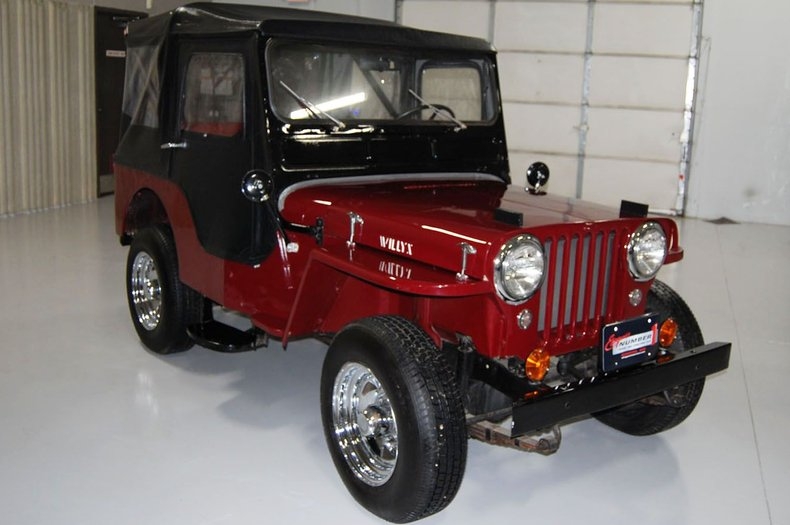 1953 Willys Jeep 4