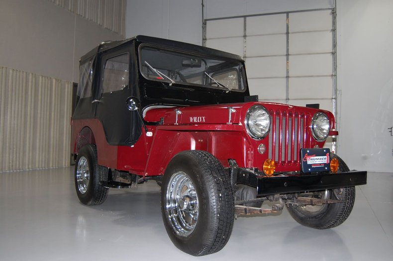 1953 Willys Jeep 9