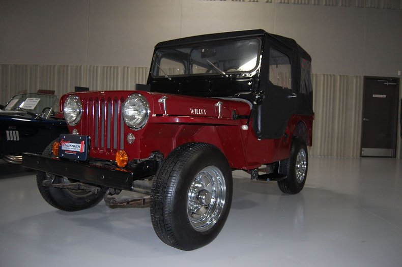 1953 Willys Jeep 10