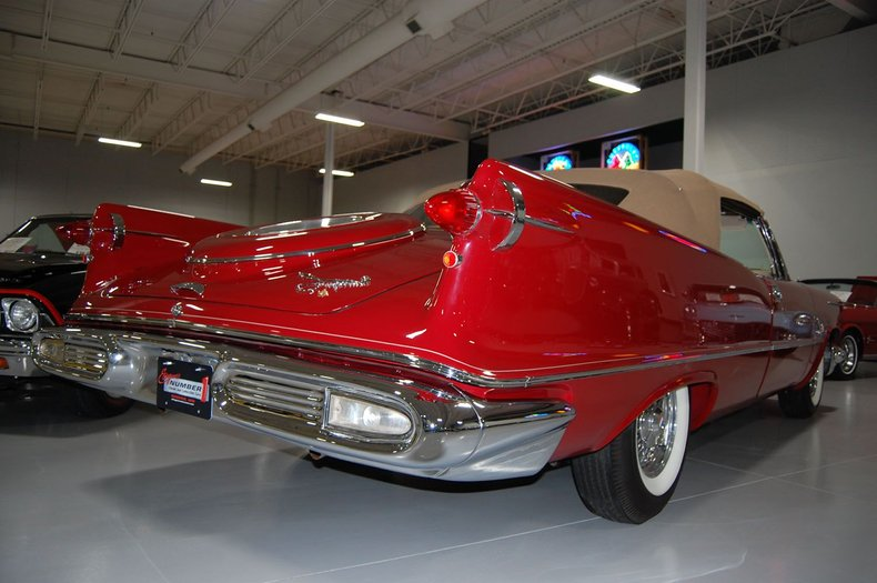 1958 Chrysler Imperial Crown Convertible 35