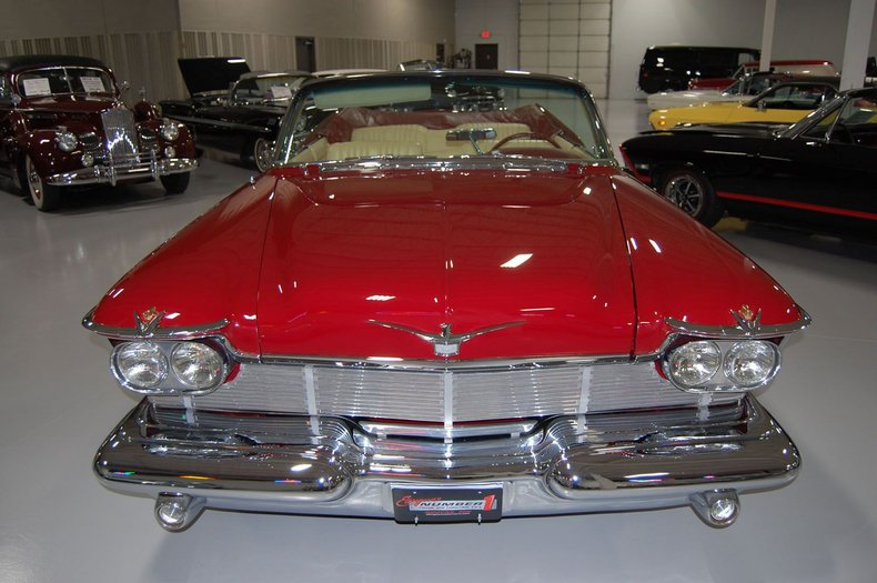1958 Chrysler Imperial Crown Convertible 11