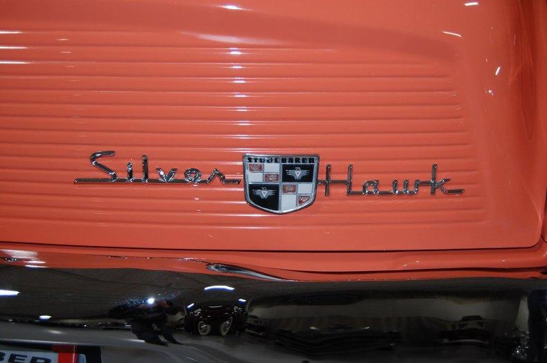1958 Studebaker Silver Hawk 23