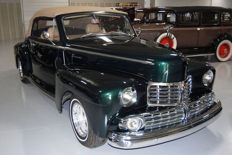 1946 Lincoln Convertible Street Rod 6